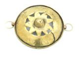 Afghan Tribal Brass Pendant - Amulet 84mm (AF770)