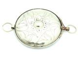 Afghan Tribal Silver Pendant - Amulet 94mm (AF790)