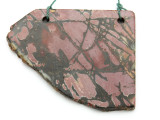 Red Creek Jasper Gemstone Slab Pendant (GSP2160)