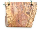 Red Creek Jasper Gemstone Slab Pendant (GSP2163)