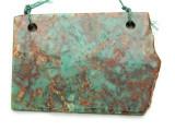 Australian Green Opal Gemstone Slab Pendant (GSP2179)