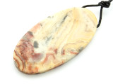 Crazy Lace Agate Pendant 60mm (GSP2183)