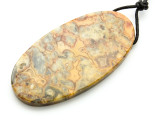 Crazy Lace Agate Pendant 60mm (GSP2189)