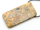 Crazy Lace Agate Pendant 60mm (GSP2208)