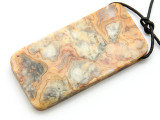 Crazy Lace Agate Pendant 60mm (GSP2211)