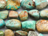 Turquoise Large Nugget Beads 9-20mm (TUR1319)