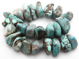 Turquoise Large Nugget Beads 24-47mm (TUR1323)
