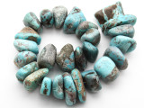 Turquoise Large Nugget Beads 27-43mm (TUR1326)