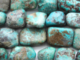 Turquoise Large Nugget Beads 17-30mm (TUR1337)