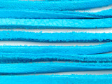 "Turquoise Deerhide Leather Lace 3mm - 36"" (LR120)"