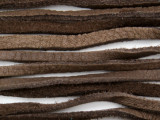 "Chocolate Brown Deerhide Leather Lace 3mm - 36"" (LR122)"