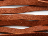 "Russet Deerhide Leather Lace 5mm - 72"" (LR129)"