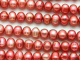 Pink Potato Pearl Beads 8-10mm (PRL207)