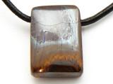 Boulder Opal Pendant 20mm (BOP282)