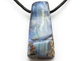 Boulder Opal Pendant 41mm (BOP317)