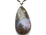 Boulder Opal Pendant w/Sterling Silver Bail 42mm (BOP338)