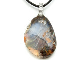 Boulder Opal Pendant 26mm (BOP340)