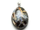Boulder Opal Pendant w/Sterling Silver Bail 33mm (BOP347)