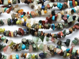 "Mixed Chip Gemstone Beads - 34"" strand (GS4689)"
