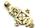 Coptic Cross Pendant - 52mm (CCP637)
