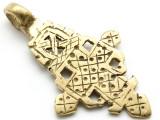 Coptic Cross Pendant - 60mm (CCP638)