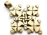 Coptic Cross Pendant - 61mm (CCP649)