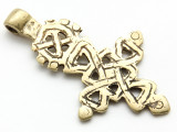 Coptic Cross Pendant - 67mm (CCP654)