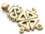 Coptic Cross Pendant - 55mm (CCP657)