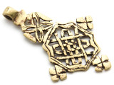 Coptic Cross Pendant - 75mm (CCP658)