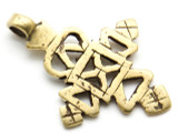 Coptic Cross Pendant - 52mm (CCP664)