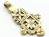 Coptic Cross Pendant - 55mm (CCP669)