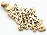 Coptic Cross Pendant - 64mm (CCP672)
