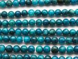 Apatite Round Gemstone Beads 6mm (GS4703)