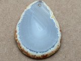 Montana Agate Gemstone Slab Pendant 62mm (GSP2267)