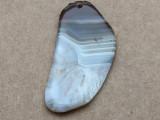 Montana Agate Gemstone Slab Pendant 65mm (GSP2270)