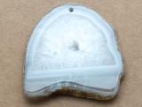 Montana Agate Gemstone Slab Pendant 63mm (GSP2292)