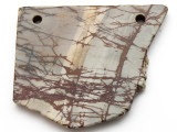 Red Creek Jasper Gemstone Slab Pendant (GSP2318)