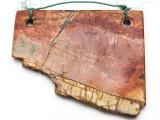 Red Creek Jasper Gemstone Slab Pendant (GSP2320)