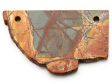 Red Creek Jasper Gemstone Slab Pendant (GSP2323)