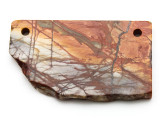 Red Creek Jasper Gemstone Slab Pendant (GSP2326)