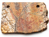 Red Creek Jasper Gemstone Slab Pendant (GSP2333)
