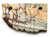 Red Creek Jasper Gemstone Slab Pendant (GSP2334)