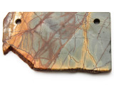 Red Creek Jasper Gemstone Slab Pendant (GSP2335)