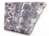 Amethyst Gemstone Slab Pendant (GSP2337)