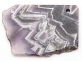 Amethyst Gemstone Slab Pendant (GSP2345)