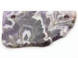 Amethyst Gemstone Slab Pendant (GSP2349)