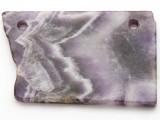 Amethyst Gemstone Slab Pendant (GSP2358)