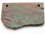 Australian Green Opal Gemstone Slab Pendant (GSP2365)