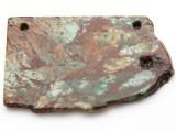 Australian Green Opal Gemstone Slab Pendant (GSP2369)