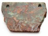 Australian Green Opal Gemstone Slab Pendant (GSP2372)